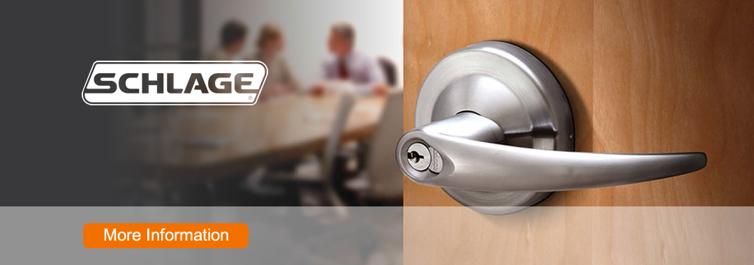 W. R. Ringheim stocks and supports a variety of Schlage mechanical locks and security products. Built with<br> dependable security performance, our durable mechanical locks offer a range of features, functions, and styles no matter how demanding the application.